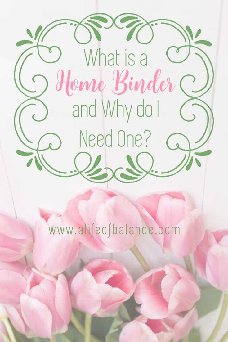Home Binder | Home | Organization