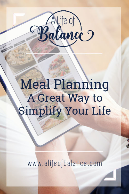 Many people think they are too busy to plan their meals. These people are missing out on a great time & money saver. Learn how to easily create a meal plan.