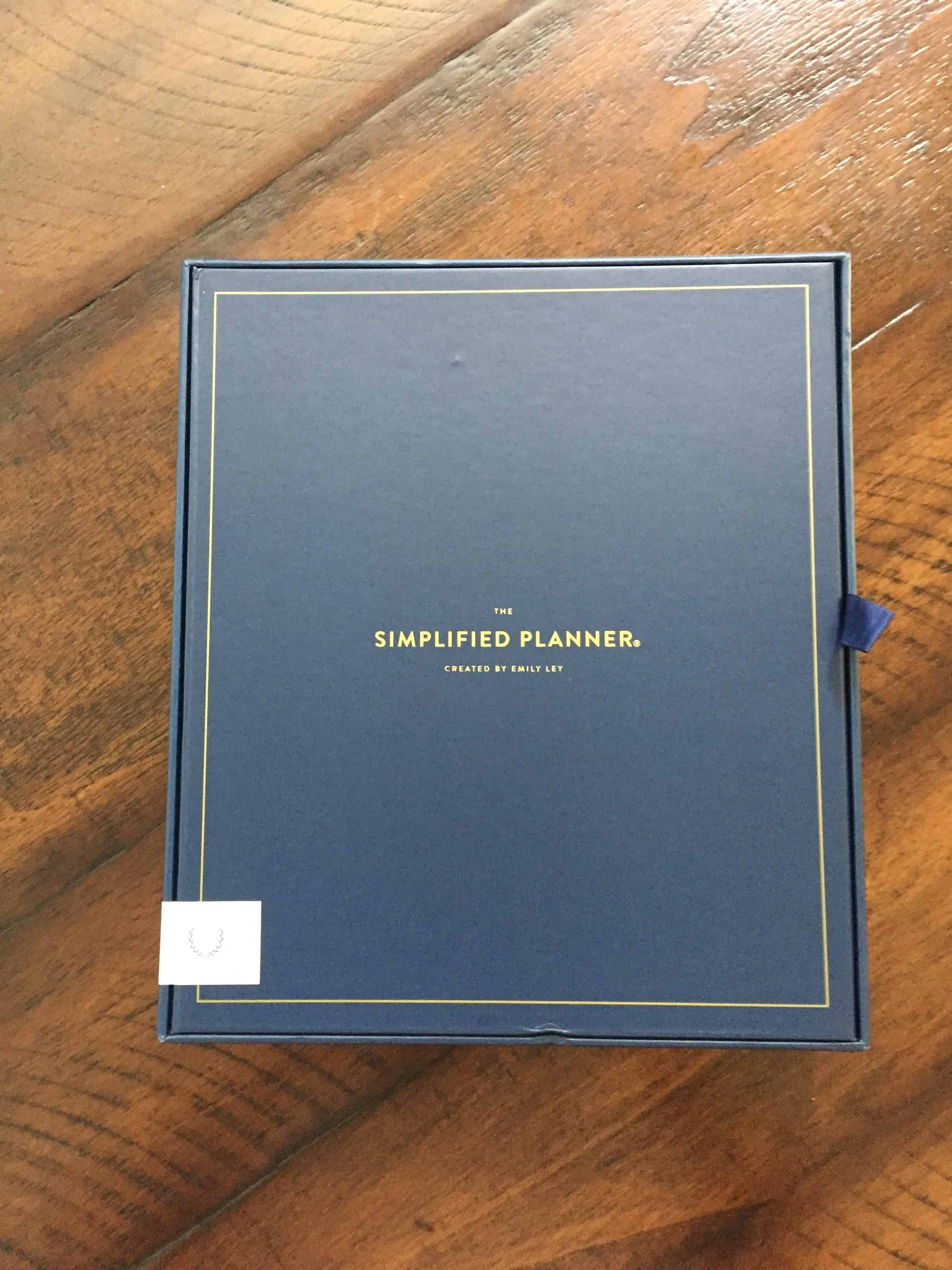 Box for Emily Ley | Simplified Planner