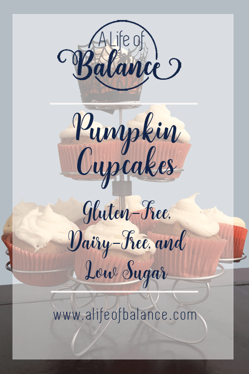 Do you love pumpkin? I do, especially pumpkin cupcakes, bread and other pumpkin treats. But, I had trouble finding gluten-free options that tasted good. I converted a regular recipe into a gluten-free one with excellent results. Not only is it gluten-free, but also dairy-free, and low sugar. That sounds like a big win to me. These cupcakes were very moist with a good pumpkin taste. I added icing to some of them, but they were just as good without it.