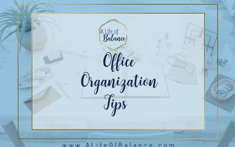 Whether your office is a place you write your bills, wrap your presents, or work from full-time, it is most effectively used when it's well-organized. Office Organization Tips.