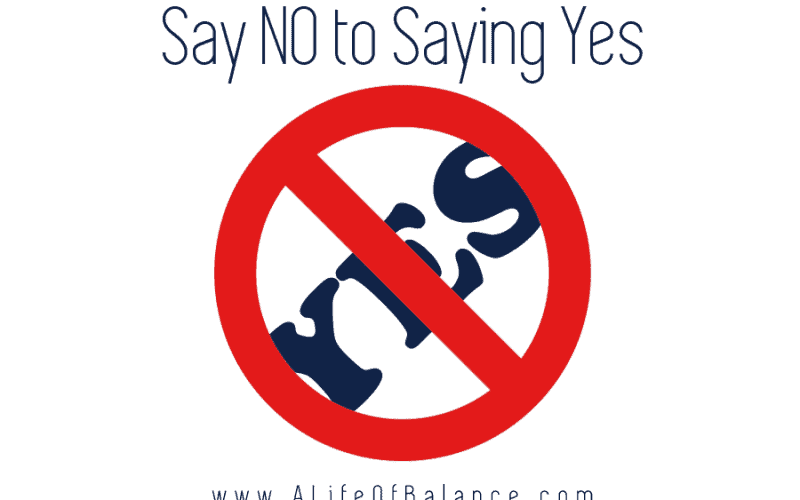 Contrary to popular belief, NO is not a four-letter word. Whether we're asked to volunteer at our kid's school, take on more clients at work, or do a favor for a friend, many of us say yes more often than we should.