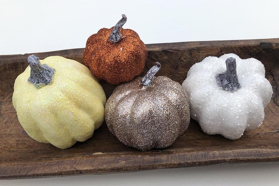 Glitter Pumpkins to Make Yourself - ALifeOfBalance.com