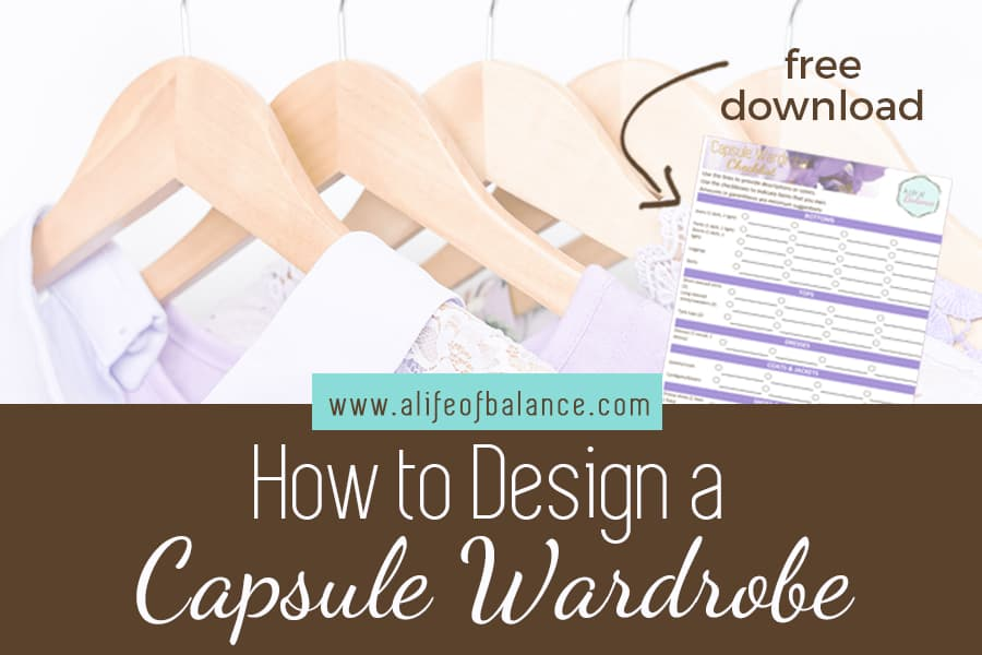 Capsule Wardrobe to Simplify Your Style