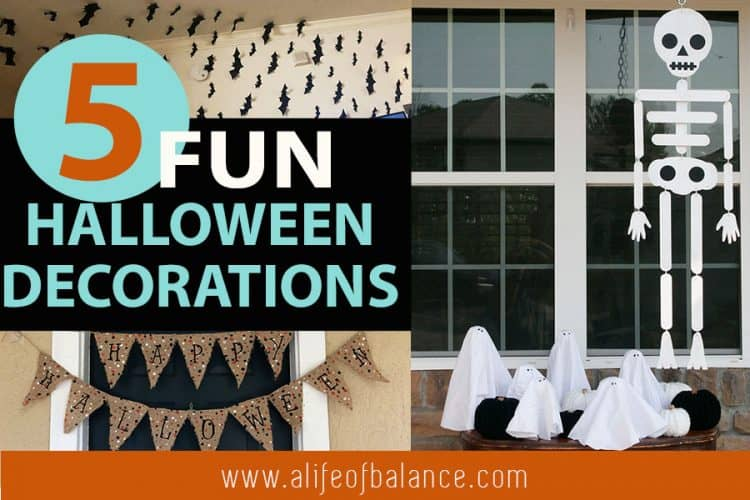 5 Fun Halloween Decorations on a Budget