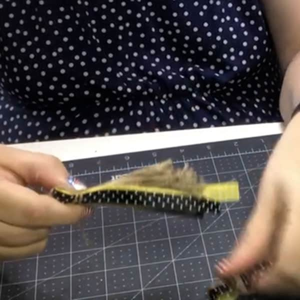 Creating a tassel for a wood bead garland ~ alifeofbalance.com
